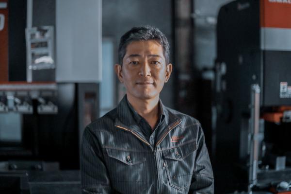 製造業界で変革に挑む男